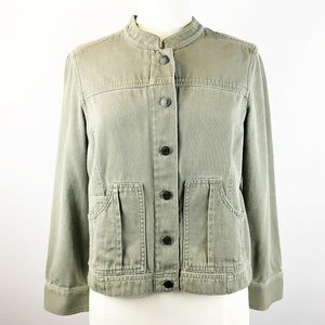 CLEARANCE J. Jill Stand Collar Utility Jacket SP
